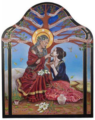 """""""Strength in Tenderness,"""" by artist Sue Ellen ..."""