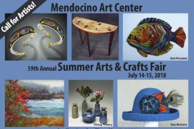 Mendocino Art Center SUMMER ARTS AND CRAFTS FAIR