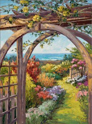 Mendocino Art Center's Members' Juried Garden-Themed Exhibit