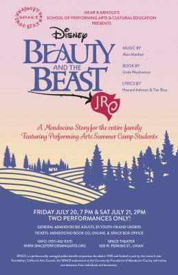 SPACE Presents Beauty and the Beast Jr.