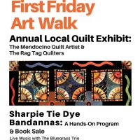 First Friday Art Walk & Book Sale