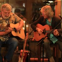 "Guitar Duo ""The Quitters"" with Glenn Houston & Stevie Coyle at WCT July 22"