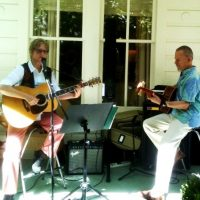 Tichava & Brede at Blue Wing Sunday Brunch