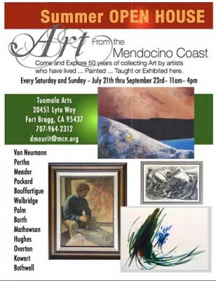 Art from the Mendocino Coast - Summer Open House