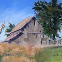 Supporting the Spring Ranch Barns by Suzi Long