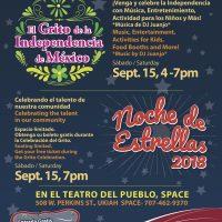 SPACE presents El Grito & Noche De Estrellas Celebration