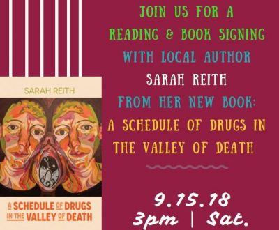 Reading with Author Sarah Reith