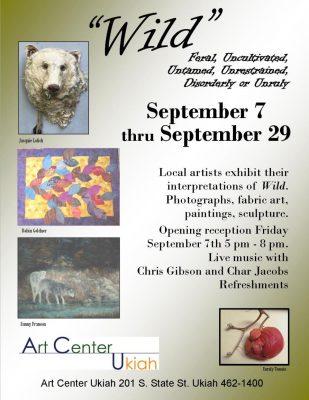 """""""Wild"""" Juried Art Exhibit"""