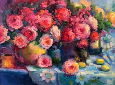 Still Life Oil Painting Demonstration with artist Elio Camacho
