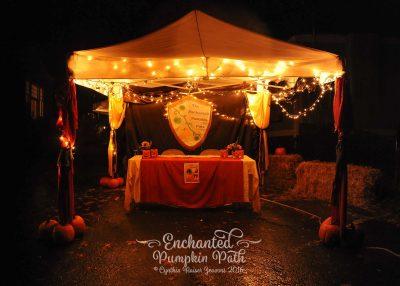 Enchanted Pumpkin Path