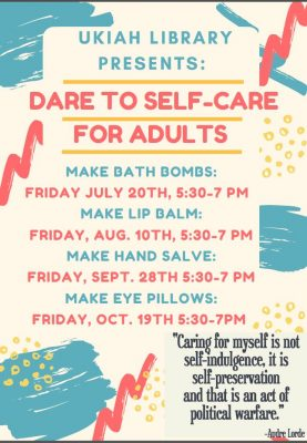 Dare to Self-Care for Adults: Make Eye Pillows