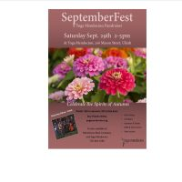 SeptemberFest - Yoga Mendocino's Annual Fundraiser