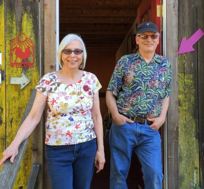 American Craft Week Open Studio event in Anderson Valley featuring jewelry and printmaking.