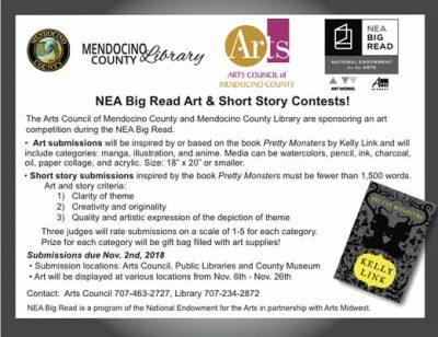 NEA Big Read Art & Short Story Contests!