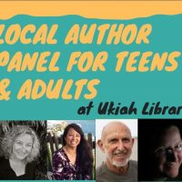 Local Author Panel featuring Jody Gehrman, Rena Rocford, David Weitzman, and Natasha Yim