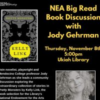 "NEA Big Read Book Discussion of ""Pretty Monsters"" with Local Author Jody Gehrman"