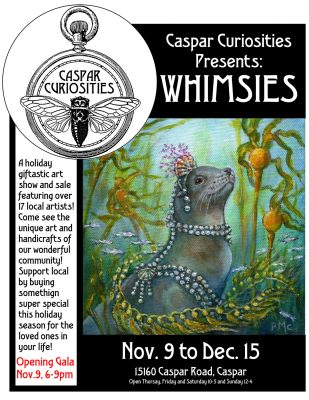 Whimsies! A Holiday Giftastic Art Show and Sale!