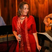 Jenna Mammina at Blue Wing Sunday Supper
