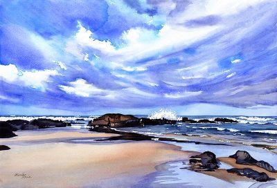"""Mariko Irie 2018"" Watercolor & Oil Paintings"