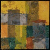 """Lisa Orselli solo show, """"Paper, Patterns, Places,"""" Encaustics"""