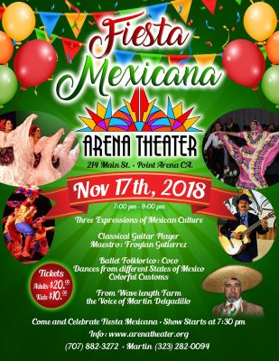 Fiesta Mexicana: Three Expressions of Mexican Culture