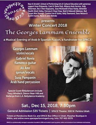 SPACE presents The Georges Lammam Ensemble