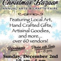 Laytonville Christmas Bazaar at Harwood Hall- This Weekend