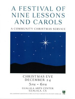 A Festival of Nine Lessons and Carols, A Holiday Tradition