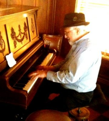 David Neft at Blue Wing Tuesday Supper
