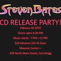 STEVEN BATES CD RELEASE PARTY