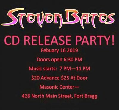 STEVEN BATES CD RELEASE PARTY