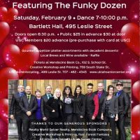 Valentine's Dance Party with The Funky Dozen