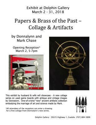 Papers & Brass of the Past at Dolphin Gallery