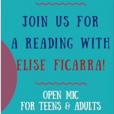 LOBA Reading Series Featuring Elise Ficarra