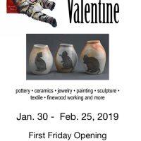 "Northcoast Artists presents ""My Furry Valentine."""