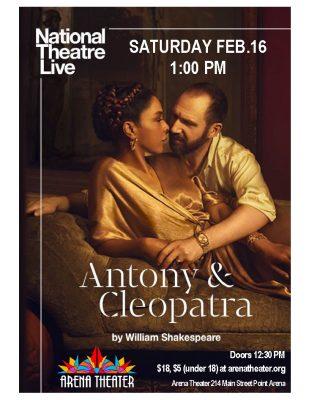 National Theatre Live: Antony and Cleopatra