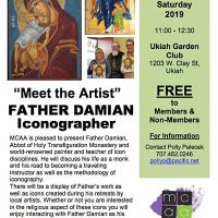 """Meet the Artist"" FATHER DAMIAN Iconographer"
