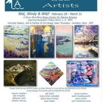 "Mendocino Eco Artist's show - ""Wet, Windy & Wild"""