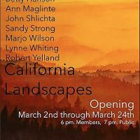 California Landscapes, Willits Center for the Arts