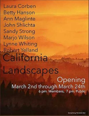 California Landscapes, Willits Center for the Arts...