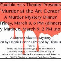 """""""Murder At The Arts Center"""": A Murder Mystery Dinner"""