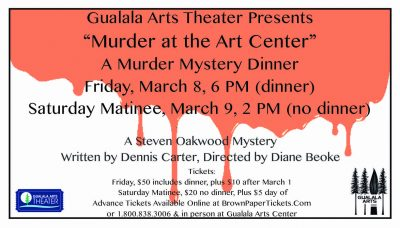 """Murder At The Arts Center"": A Murder Mystery Dinn..."