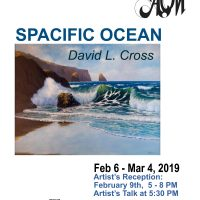 """David L Cross Featured Artist: """"Spacific"""" with new marine art"""