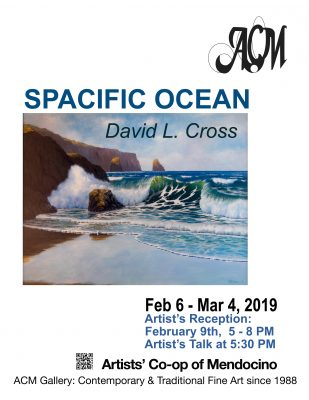 "David L Cross Featured Artist: ""Spacific"" with new marine art"