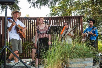 HAPPY HOUR WITH THE BACKPORCH PROJECT