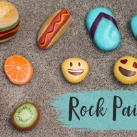 Random Crafts of Kindness - ROCK PAINTING