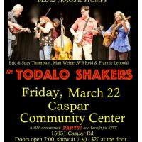 An Evening with the Todalo Shakers