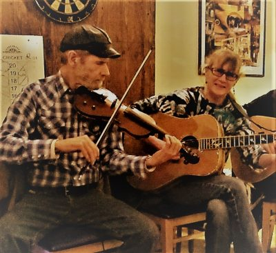 Country Duo at Blue Wing for Upper Lake Wild West Day