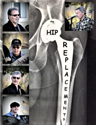"""Hip Replacements"" at Blue Wing Monday Blues"