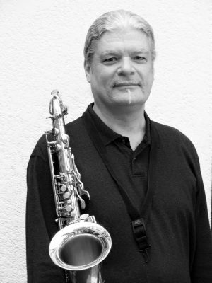 """""""Live from the Blue Wing"""" with Francis Vanek on sax"""